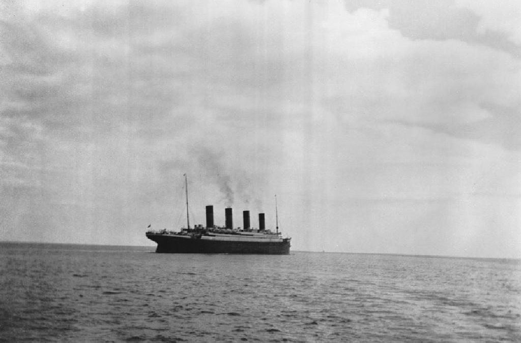 As The Titanic Sank, He Preached…