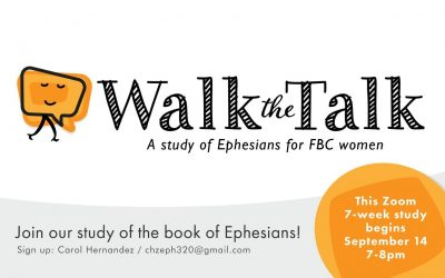 Walk the Talk: Women's Ministry Bible Study
