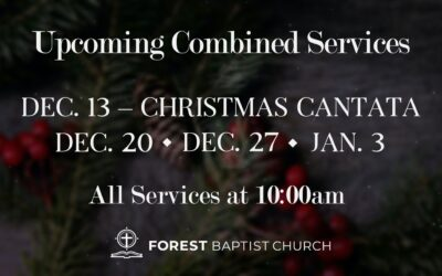 Upcoming Combined Services