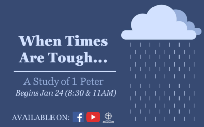 New Sermon Series Begins January 24