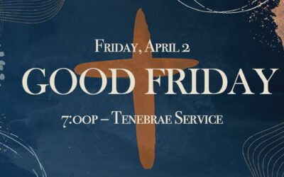 Good Friday Service & Lord's Supper