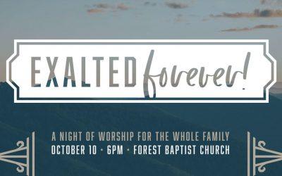 Night of Worship, October 10