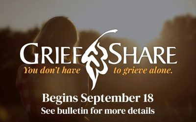 Grief Share Ministry Starting Feb. 5, 2022